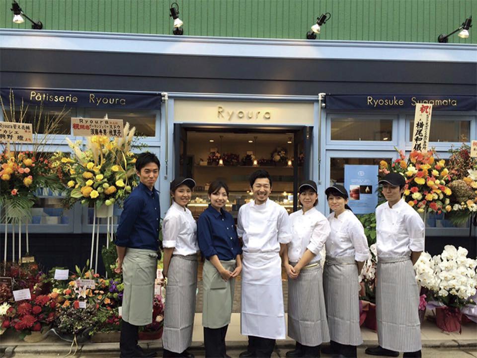 法式蛋糕店 Ryoura